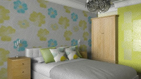 Example - Bedroom - by lou_lou_belle