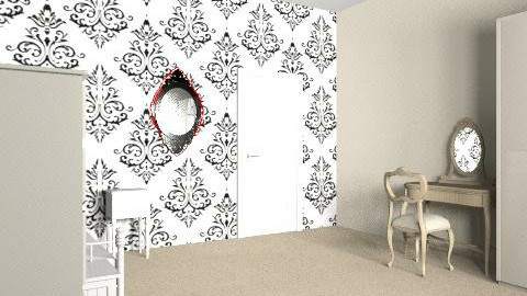 Sassy13 - Vintage - Bedroom  - by Pombok1
