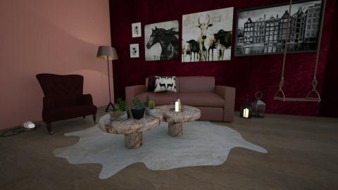 Burgundy - by adeldesign