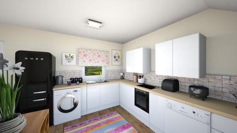 Burnet Kitchen 1 - Kitchen  - by pinklilith