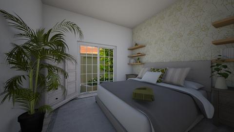 Mias mid range room  - Bedroom  - by ObsessedDiys