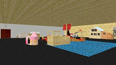 room 1 - Retro - Kids room  - by Buck Strongarm
