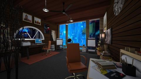 Home Artist Office - Office  - by PAPIdesigns