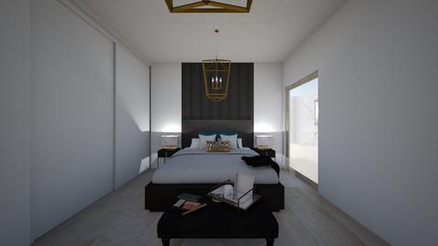 sypialnia - Modern - Bedroom  - by Szelag