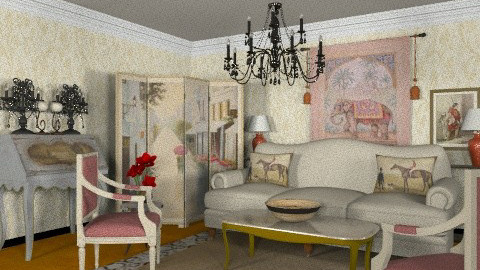 The Provencale 2 - Classic - Living room  - by Azmi_Ar