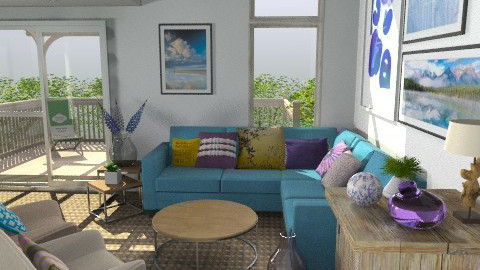 Beach house - Modern - Living room - by toadfool
