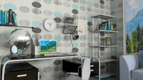 Home office_2 - Modern - Office  - by milyca8