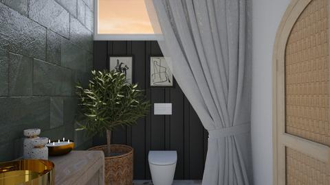 Arty Relaxing Toilet - Modern - Bathroom  - by aestheticXdesigns