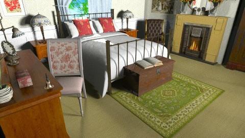 Victorian Bedroom - Classic - Bedroom  - by yourjieee