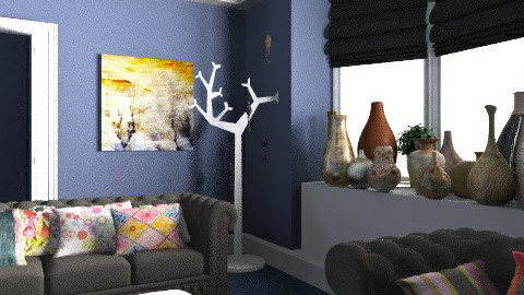 Living Room for Hunny :-) - Eclectic - Living room  - by camilla_saurus