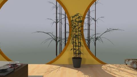 my yelow dream bedroom - Rustic - Bedroom  - by Oliveira Fabio