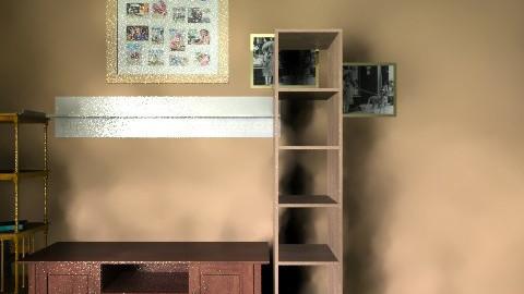 wohnung01 - Retro - Living room  - by redreis