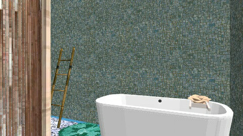 nature 1 - Glamour - Bathroom  - by roserosewood