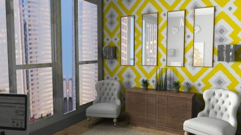 The Stylish Executive - Modern - Office  - by allysonrose
