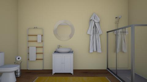 Yellow Bathroom - Glamour - Bathroom  - by 29catsRcool