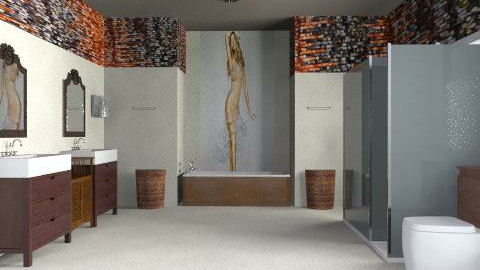 he loves her!!! - Modern - Bathroom - by thankgod