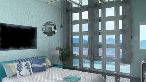 The Sea_variant - Modern - Bedroom  - by milyca8