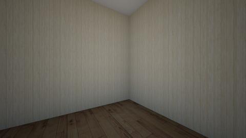 room 8vo A - Bedroom  - by diegomedinagarcia