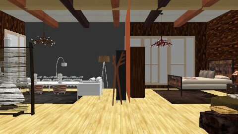 21st Century Cabin for 2 ( or 4) - Rustic - by decordiva1