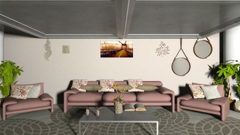 mo - Living room - by saraftayeh