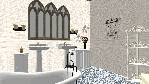 Ghotic - Eclectic - Bathroom  - by Evihun