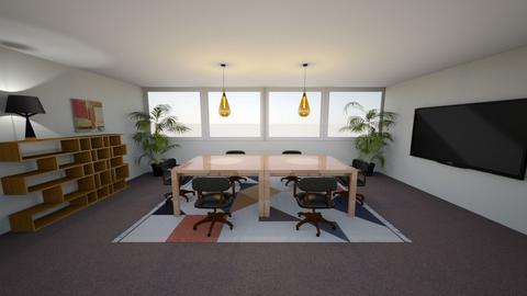 Office Room Design - Minimal - Office - by TerAngela