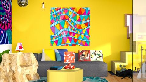 Inspired - Country - Living room  - by elephant in savanna