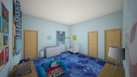 Nate_s Room6 - Kids room - by Robacki