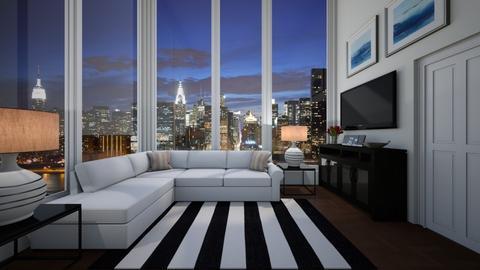 Skyscraper - Living room  - by VeroDale