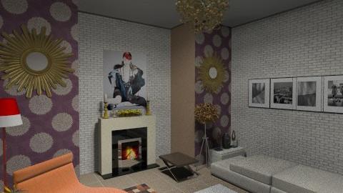Livin - Living room - by Yadu Sharma