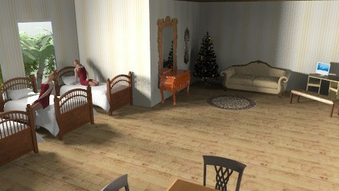 Who Says Dorms Can't Be Elegant? - Rustic - Bedroom  - by HiImTaylor