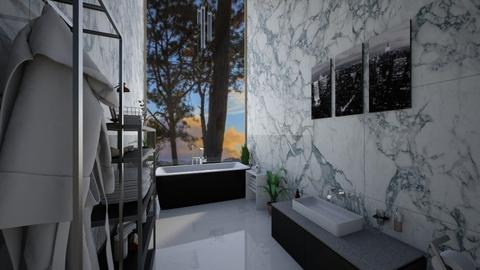 modern bathroom - Modern - Bathroom  - by roomybabes009