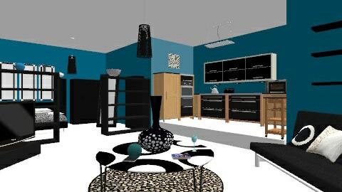 Studio Apartment - Modern - by HazelMP