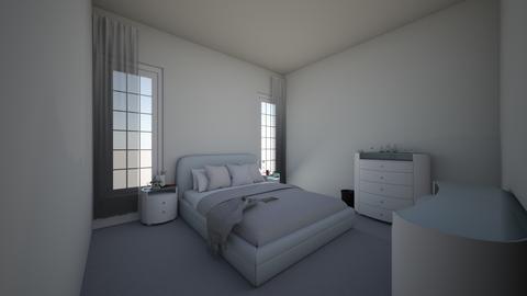 SimpleBoringBubbleBdrRoom - Minimal - Bedroom  - by jade1111