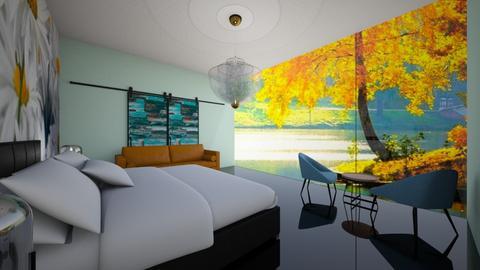 Relaxing bedroom - Modern - Bedroom  - by bleeding star
