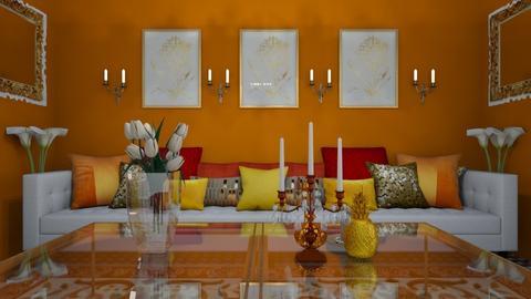 India Living 0 - Global - Living room  - by decordiva1