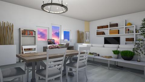 Large Living - Modern - Living room  - by Maria Rachel