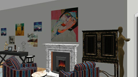 Seda living room - Eclectic - Dining room - by cleyenne