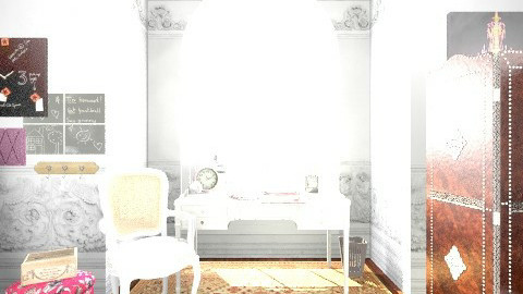 StudioDesignInterior - Glamour - Office  - by leandrakatelyn