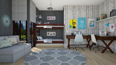 Woods - Kids room  - by Liu Kovac