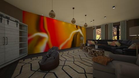 come along - Retro - Living room  - by kla