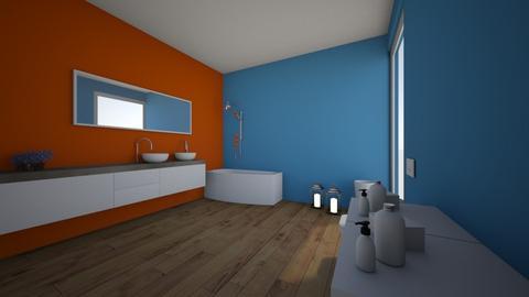 bano contraste - Bathroom - by alvaropenalver