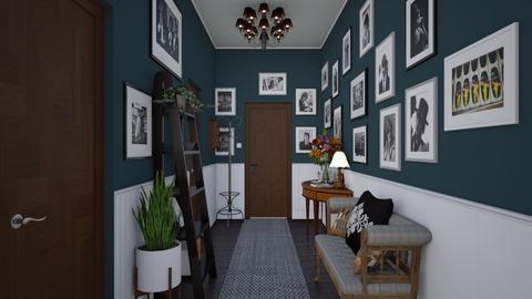 Welcoming Hallway - by Christine Keller