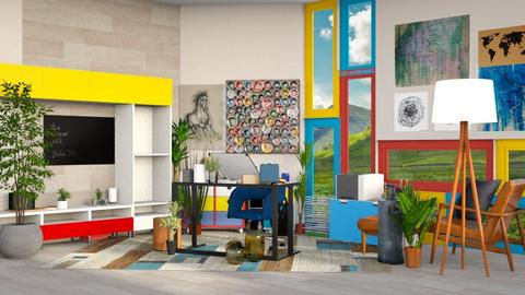 Art Studio - Modern - by Isaacarchitect