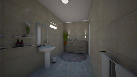 Leneeeeeeeeeel - Bathroom  - by katext