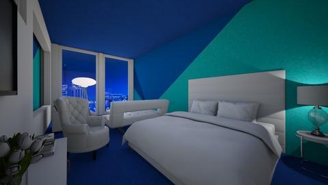 Blue - Bedroom  - by nkanyezi