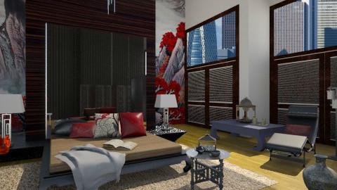 Oriental - Bedroom  - by MilaMao