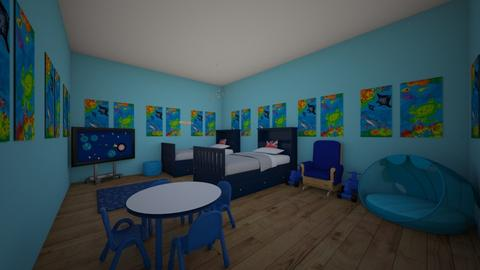 my little brothers room  - Bedroom - by 17rhughes