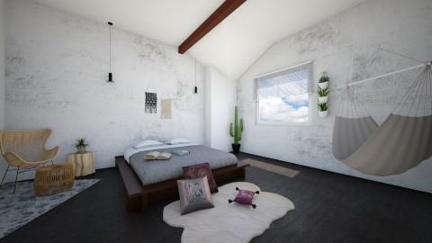 Simplicity - Modern - Bedroom  - by DeborahArmelin