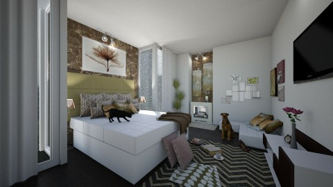 New York Bedroom - Classic - Bedroom  - by Kelli Mallory